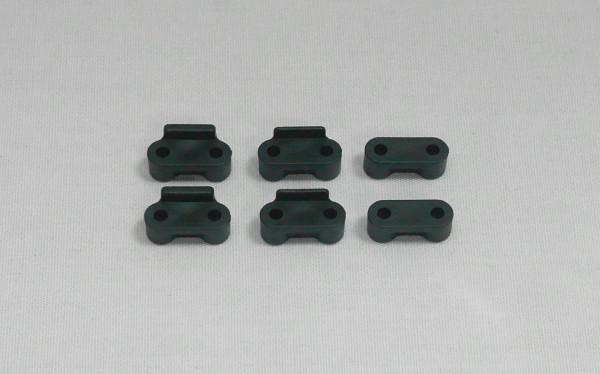 Servo Montageset (0mm x2, 1mm x2, 2mm x2)