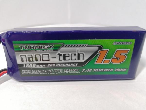 Turnigy Nano-Tech-1500mAh 2S Empfängerakku