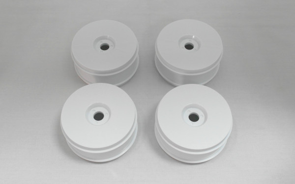 Diskfelge Weiß Set (4 PCS)