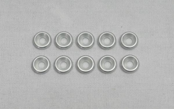 3mm Alu Senkkopfscheibe x10