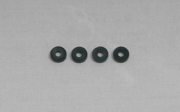 Unterlagscheibe Nachlaufblock 3 x 8 x 2mm (4 Stück)