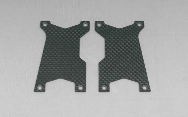 Carbon Querlenker Versteifung Set vorne (2 Stück)
