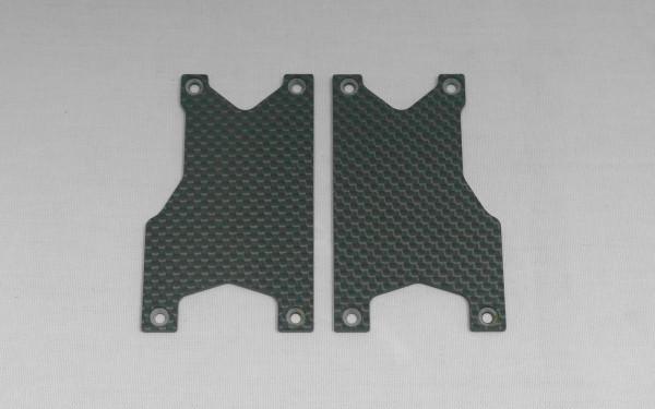 Carbon Querlenker Versteifung Set hinten (2 Stück)