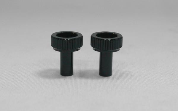 Batterie Rändelmutter leicht (2 Stück)