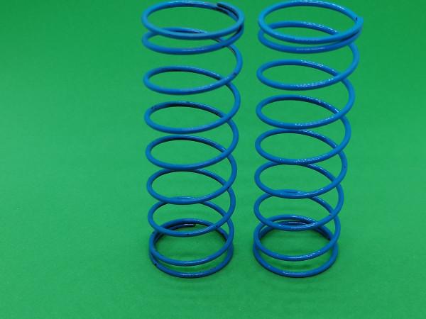 Dämpfer Feder hinten,blau weich 1,5mm (2 Stück)